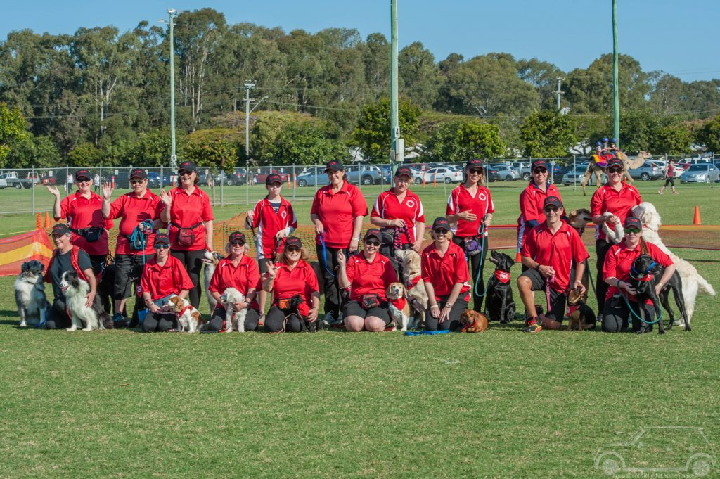 Redlands Dog Obedience Club Demo Team